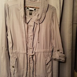 Day Trip, Gray,  Size L.Light Weight Jacket